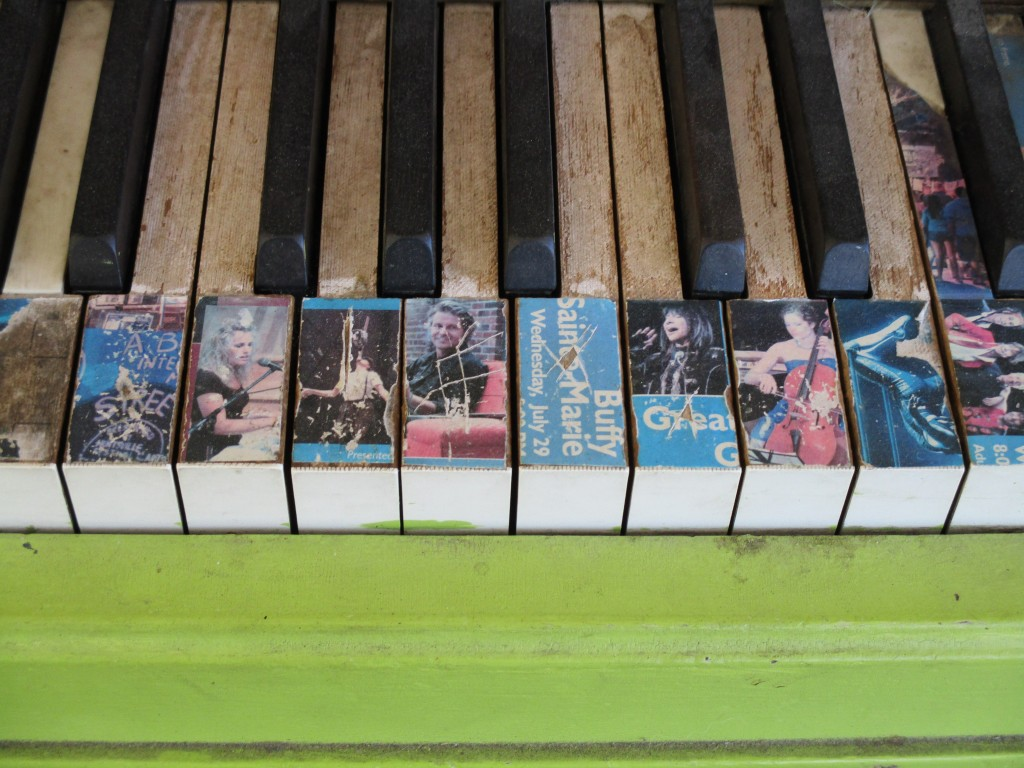 Huntsville Train Station Piano Keys
