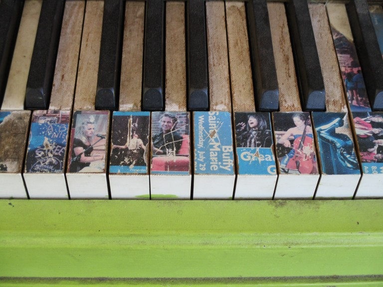 Huntsville Train Station Piano Keys